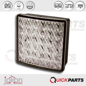 LED-Brems-Schlussleuchte | 12V | Jokon E2-06068, BRS 280w/12V