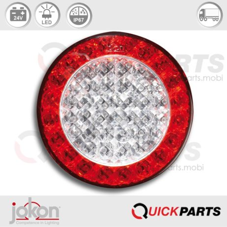 LED Direction / Stop / Tail Light | 24V | Jokon E1-4231, BBS 730b/24V