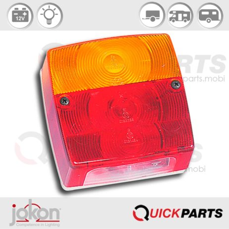 Multiple Function Light | 12V | Jokon 10.1011.411, E1-0153286, BBS(K) 404