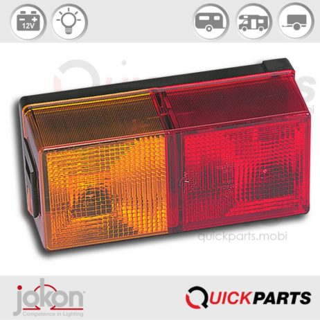 Multiple Function Light | 12V | Jokon 10.1017.101, E1-0253381, BBS(K) 580