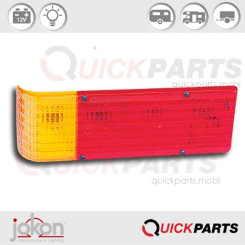 Multiple Function Light | 12V | Jokon 10.1023.011, E1-0263206, BBS 541