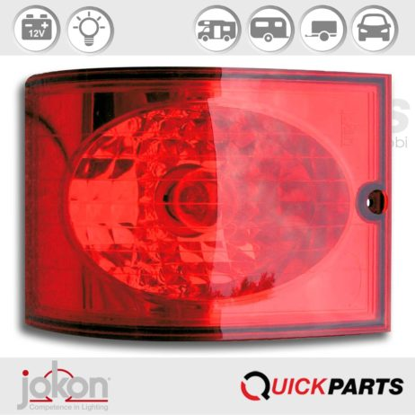 Modular Rear Light | 12V |Jokon 10.2091.800, E9-1442, BRSM 810/12 V