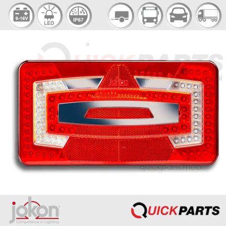 Luz LED de múltiples funciones | 9-16V | Jokon E13-13359 EMV / EMC