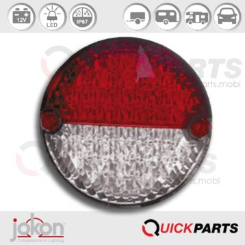 LED Directional Stop and TailLight, voltage 12V | Jokon E2-07043, BBS 725/12V