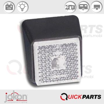Front Marker Light | 12V | Jokon 11.1004.531, E1 21672