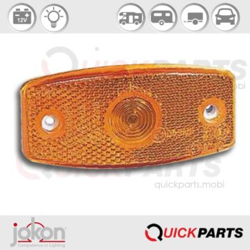 Side Marker Light | 12V | Jokon 12.1006.101, E1 1292