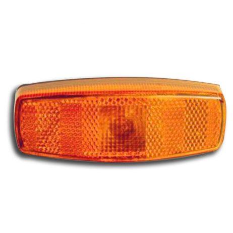 Feu de position orange, avec catadioptre orange, équipé de cosse de connexion électrique, E3-52242