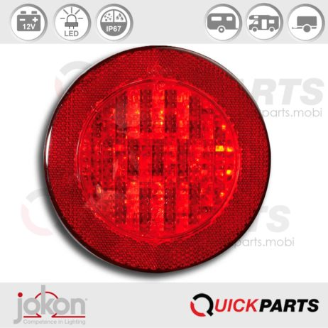 LED Fog Light with reflector | 12V | Jokon E2-06012, SNR 730/12V