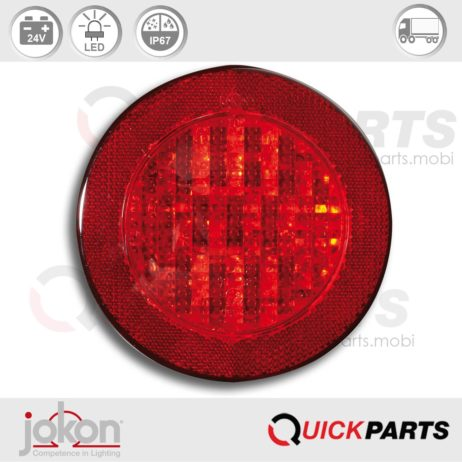 LED Mistlicht met reflector | 24V | Jokon E2-06012, SNR 730/24V
