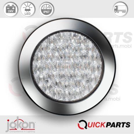 LED Mistlamp | 24V | Jokon 13.3034.500, E2-06056, SN 727w/24V