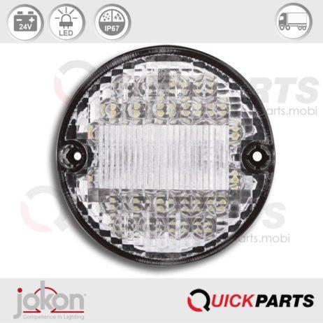 LED-Rückfahrleuchte, Spannung: 24V | Jokon E2-07048 | 13.6029.000, W 725/24V