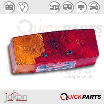 Lampglas | Jokon E1-01559 E1-0153329 Jokon 19.6023.111, E1-01559 E1-0153329, E/BBS(K) 516 LH