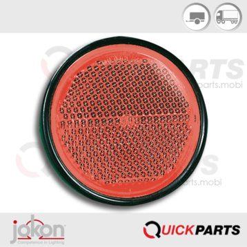Rückstrahler weiß 85 mm | Jokon IA E1-31281