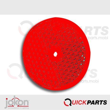 Rückstrahler weiß 80 mm | Jokon E1-0221362