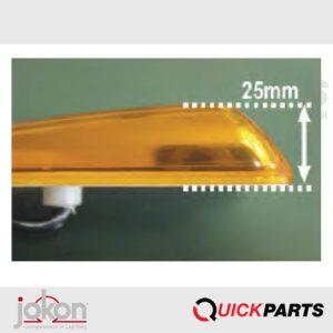 Extremadamente plano, adecuado para montaje en superficie.