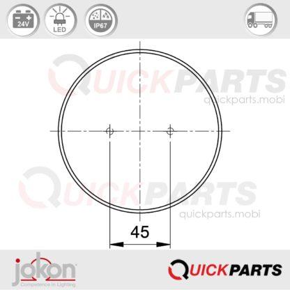 LED-Blink-Brems-Schlussl. | 24 V | Jokon E1-4231