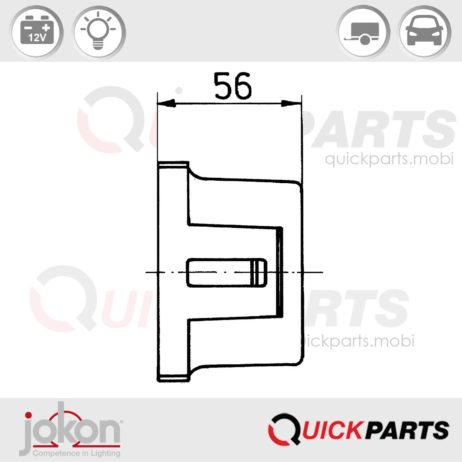 Multiple Function Light | 12V | Jokon E1-0253381