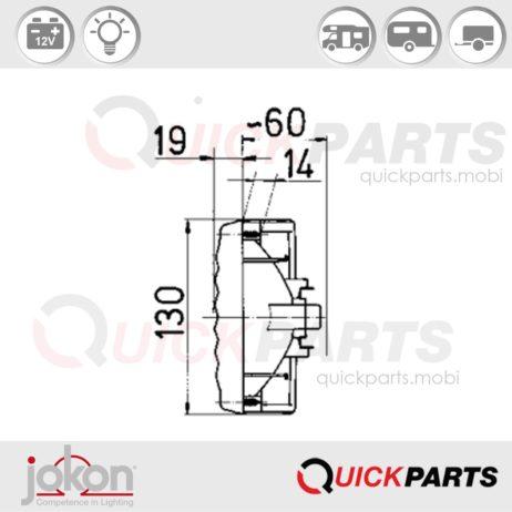 Multifunktionsleuchte | 12V | Jokon E1-0263206
