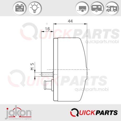 Directional light / Marker Light | 12V | Jokon E2-9040