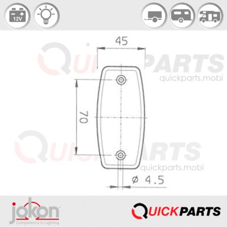 Front Marker Light | Jokon E1-1292