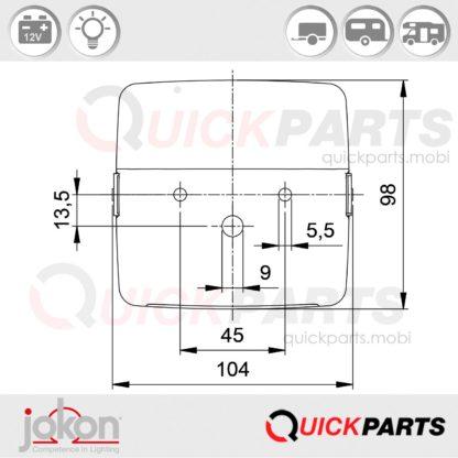 Replacement Lens | Jokon E/ 40 E1-0153305