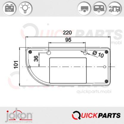 Replacement Lens | Jokon E9-1423