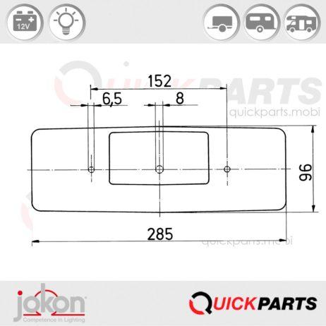 Replacement Lens | Jokon E1-0231469 E1-0153308