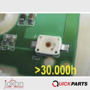 LED's de grande qualité (Marque OSRAM)