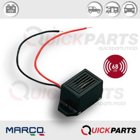 Electronic buzzer | 12V | Marco 104 040 02, BZ1