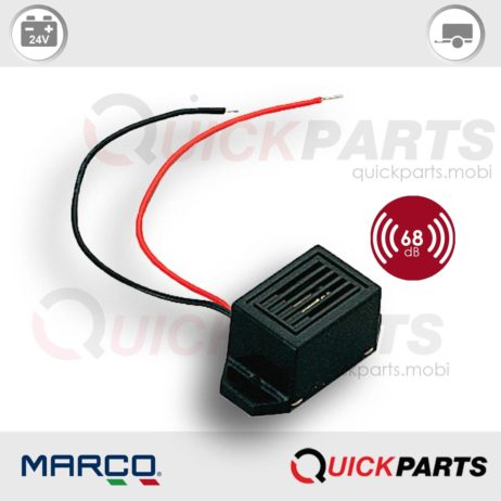 Electronic buzzer | 24V | Marco 104 040 03, BZ1