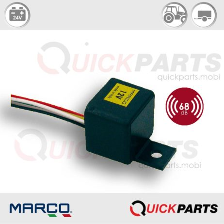 Electronic buzzer for fitment in vehicle interiors | 24V | Marco 104 041 03, Bz2