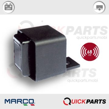 Avertisseur sonore / buzzer pour systèmes de signalisation anomalies SAS | Marco 104 042 03, Bz3-24