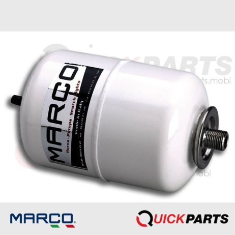 Accumulator tank, 2 L, white, Marco AT1, Marco 165 082 10, AT1