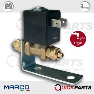 Electric valve suitable for any type of air horn | 24V