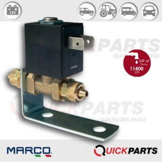 Electric valve suitable for any type of air horn | 12V