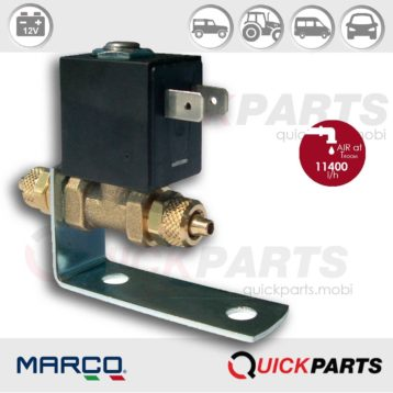 Electric valve suitable for air horn | 12V | Marco 111 100 22, EV130