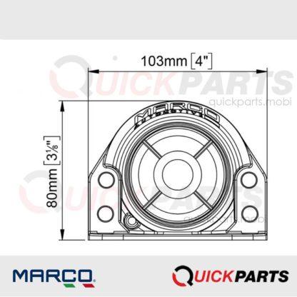 Back-up alarms designed | 9/28v | 105dB