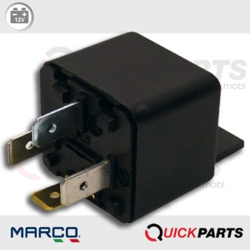 Relay 4 pin unboxed | 12V | Marco 120 000 02, R4M