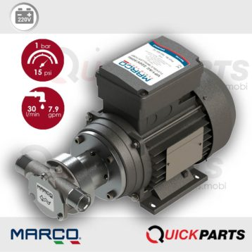 Self-priming electric gear pumps | 220V | Marco 164 001 1C