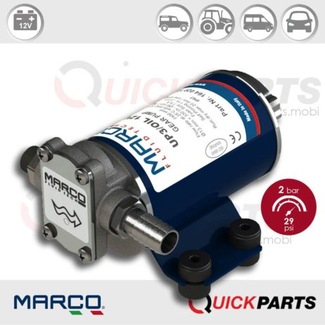 Self-Priming Electric Pump For Various Liquids | 12V | Marco UP3/OIL, Marco 164 020 12, UP3/OIL