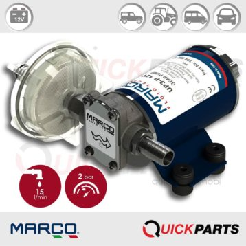 Self-Priming electric pump for various liquids | 12V | Marco UP3-P, Marco 164 002 12, UP3-P