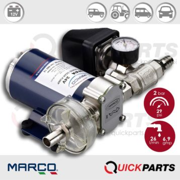 Self-Priming Electric Pump For Various Liquids | 12V | Marco UP6/A, Marco 164 620 12, UP6/A