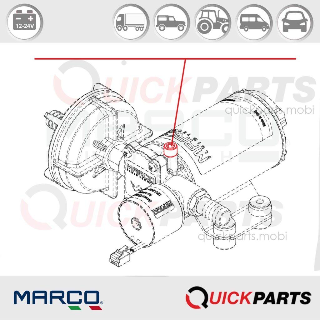 Self-priming automatic electric pump | 12-24V
