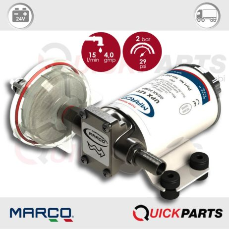Self-Priming Electric Pump For Various Liquids | 24V | Marco UPX, Marco 164 040 13, UPX