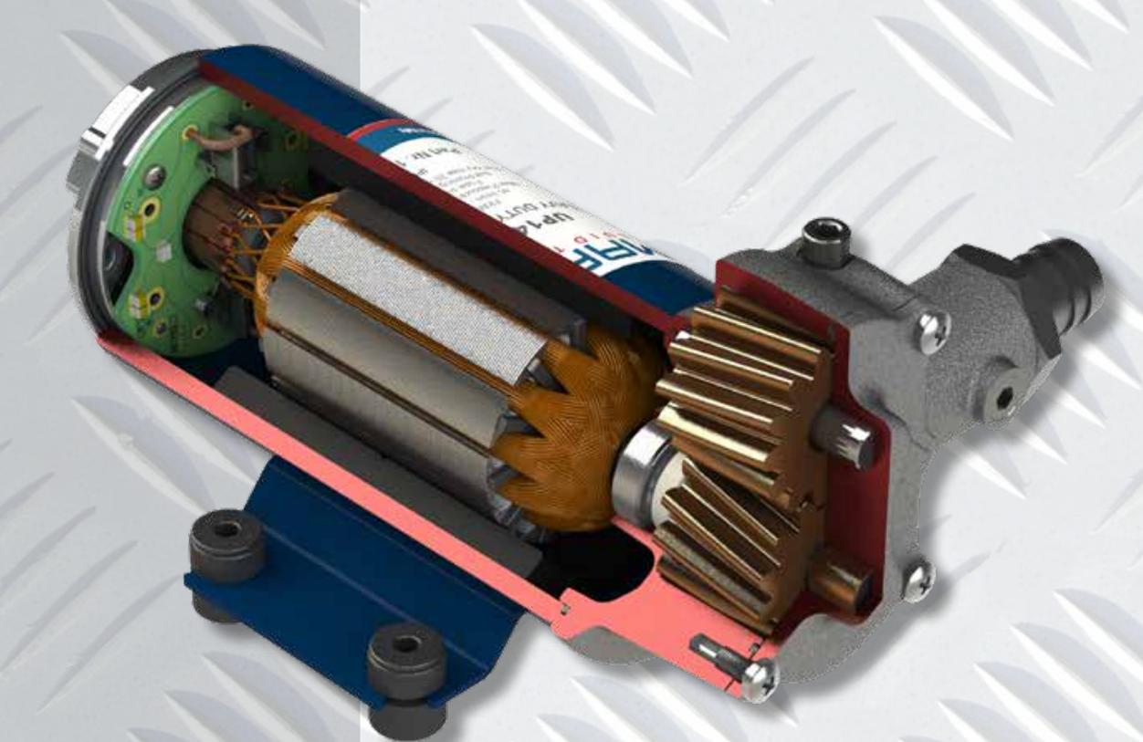 Self-Priming electric pump for various liquids | 12V | Marco UP2, Bronze Gear Pumps, Marco UP2, 164 200 12