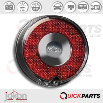 LED Stop / Tail Light | 12V | Jokon E13-34663, BRS 770/12V