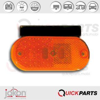 LED Side Marker Light | 12V | Jokon E2-0062 SAE
