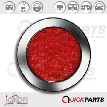 LED Fog Light | 12V | Jokon E2-06017, SN 735/12V