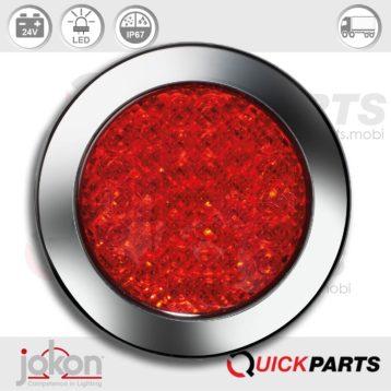 Feu antibrouillard LED | 24V| Jokon 13.3018.000, E2-06017, SN 730/24V