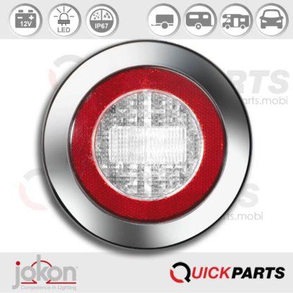 LED Reversing Light / refl.   12V   Jokon E2-06013